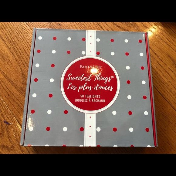 Partylite sweetest things 50 Tealight sampler